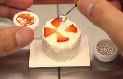 Miniature Space, el arte de cocinar en miniatura