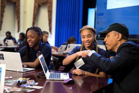 Obama quiere invertir 4.000 millones de dólares en fomentar la enseñanza de informática