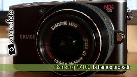 Samsung NX100, la hemos probado