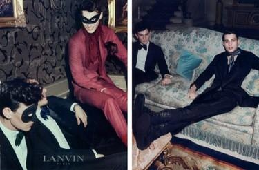 Lanvin nos viste con pajarita y foulards
