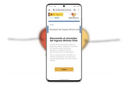Cómo saber si puedes acceder al ingreso mínimo vital desde el móvil con el simulador de la Seguridad Social