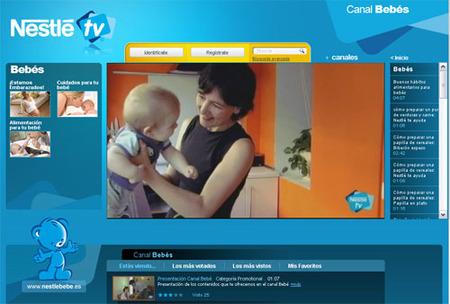 Canal Bebés en Nestlé TV
