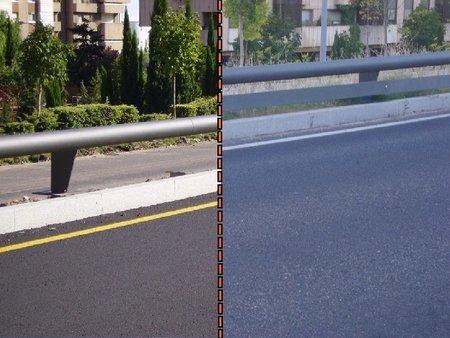 DobleBionda 010 Avda Salamanca 2007 antes y despues