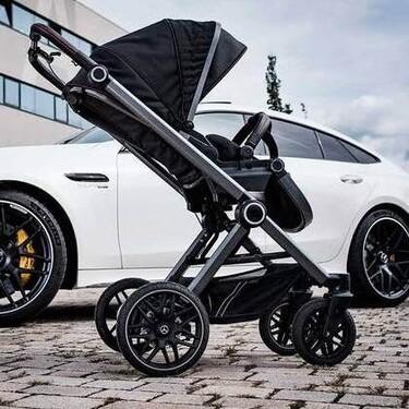 Mercedes-Benz lanza carritos de bebé inspirados en sus coches de alta gama AMG: deportivos y con el máximo confort de conducción