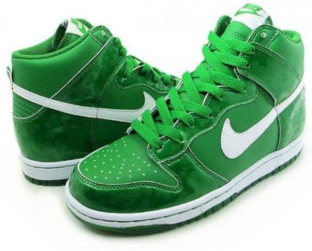 Zapatillas Nike Dunk Hi GS St. Patrick's Day