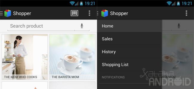 Barra de navegación lateral en Android