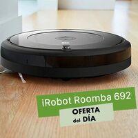 Por el Black Friday, Amazon te deja el Roomba 692 a su precio más bajo hasta la fecha, por sólo 199 euros hasta la medianoche