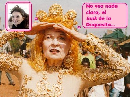 Vivienne Westwood pone a caldo el estilismo de Kate Middleton