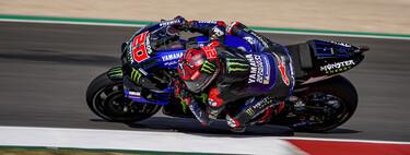 Fabio Quartararo remonta para ponerse líder de MotoGP y Marc Márquez da la talla en su regreso