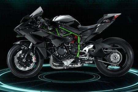 Nueva Kawasaki Ninja H2, 300 cv de pura demencia