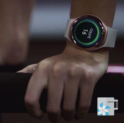 Foto de Así sería el 'reloj para deportistas' de Samsung (1/5)
