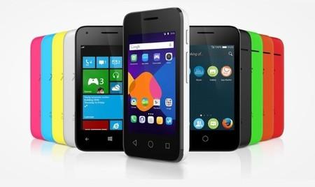 Alcatel Pixi 3, una nueva línea de smartphones con soporte para Windows Phone (y Android y Firefox OS)