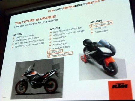 KTM filtra los planes de la marca para los próximos tres años
