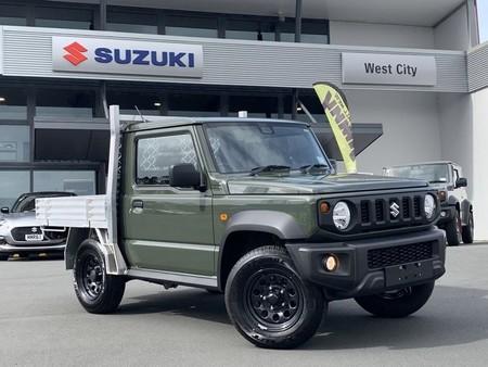Este Suzuki Jimny se ha convertido en pick-up y está en venta, pero al otro lado del mundo