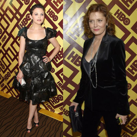 Los estilos after-party de los Globos de Oro 2009 en la fiesta de HBO