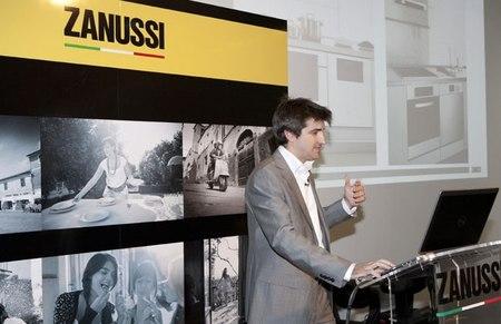 Presentación nueva gama zanussi quadro