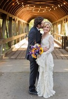 Pero qué mona Kelly Clarkson el día de su boda