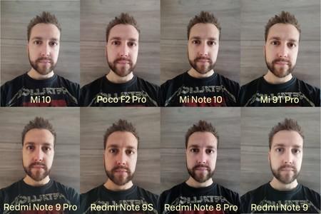 Comparativa Selfie