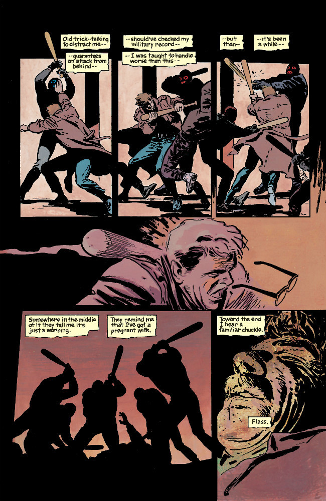 Batman Year One Comic 1