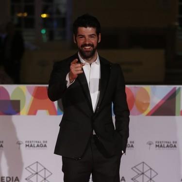 La alfombra roja del octavo día de Festival de cine de Málaga