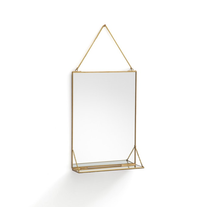 Espejo con balda