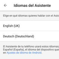Así podrás configurar el Asistente de Google en tres idiomas en tu móvil o tablet Android