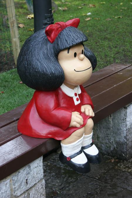 Estatua Mafalda
