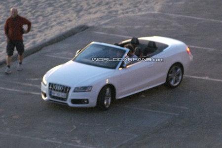 El Audi S5 Cabrio totalmente al descubierto