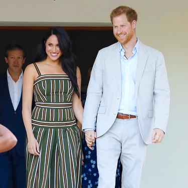 Meghan Markle vuelve a despertar los rumores de embarazo: esta vez luciendo otro vestido pre-mamá que ya lució el año pasado