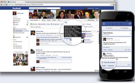 En los grupos de Facebook ahora se podrá ver quiénes leen las publicaciones en estos canales