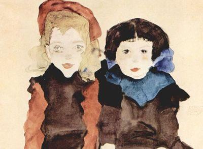 Desde Viena con amor. Egon Schiele en el Museo Guggenheim.