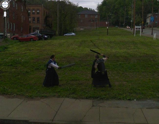 Foto de Google Street View fotos por Jon Rafman (31/32)