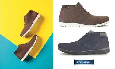 Del confort y de la estética: botín de Stonefly