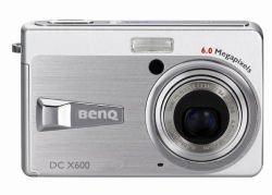 BenQ X600, la cámara de 6 megapíxeles más pequeña