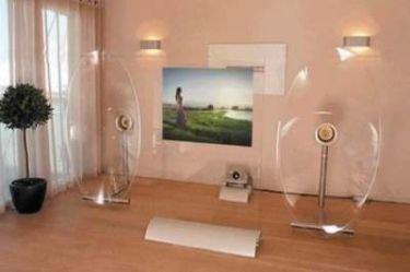 Televisión transparente de Sony