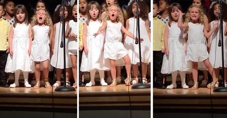 Cuando cantar es tu pasión: con solo 4 años se gana a los espectadores con la canción de Moana (Vaiana)