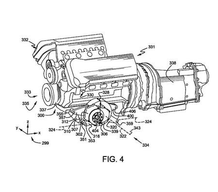 Patente V8 Hibrido Ford 3