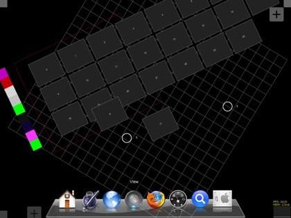 Demostración de utilización multitáctil de Mac OS X