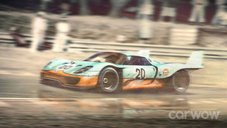 Porsche 918 - Porsche 917 Longtail