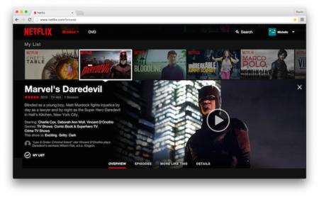 Netflix empieza con el despliegue de su nuevo diseño para la versión web
