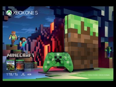 La edición limitada del Xbox One S de Minecraft llegará a México en octubre