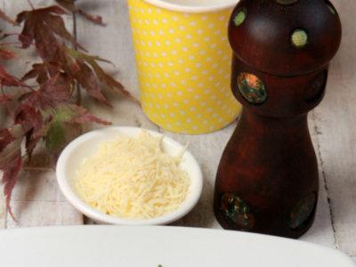 Receta de boloñesa envuelta en láminas de calabacín
