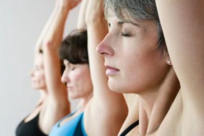 Ejercicio suave para la menopausia