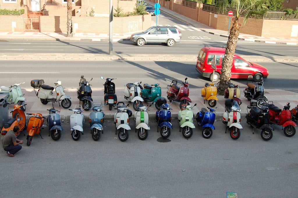 Foto de Segundo Scooter Rally de Alicante (8/10)