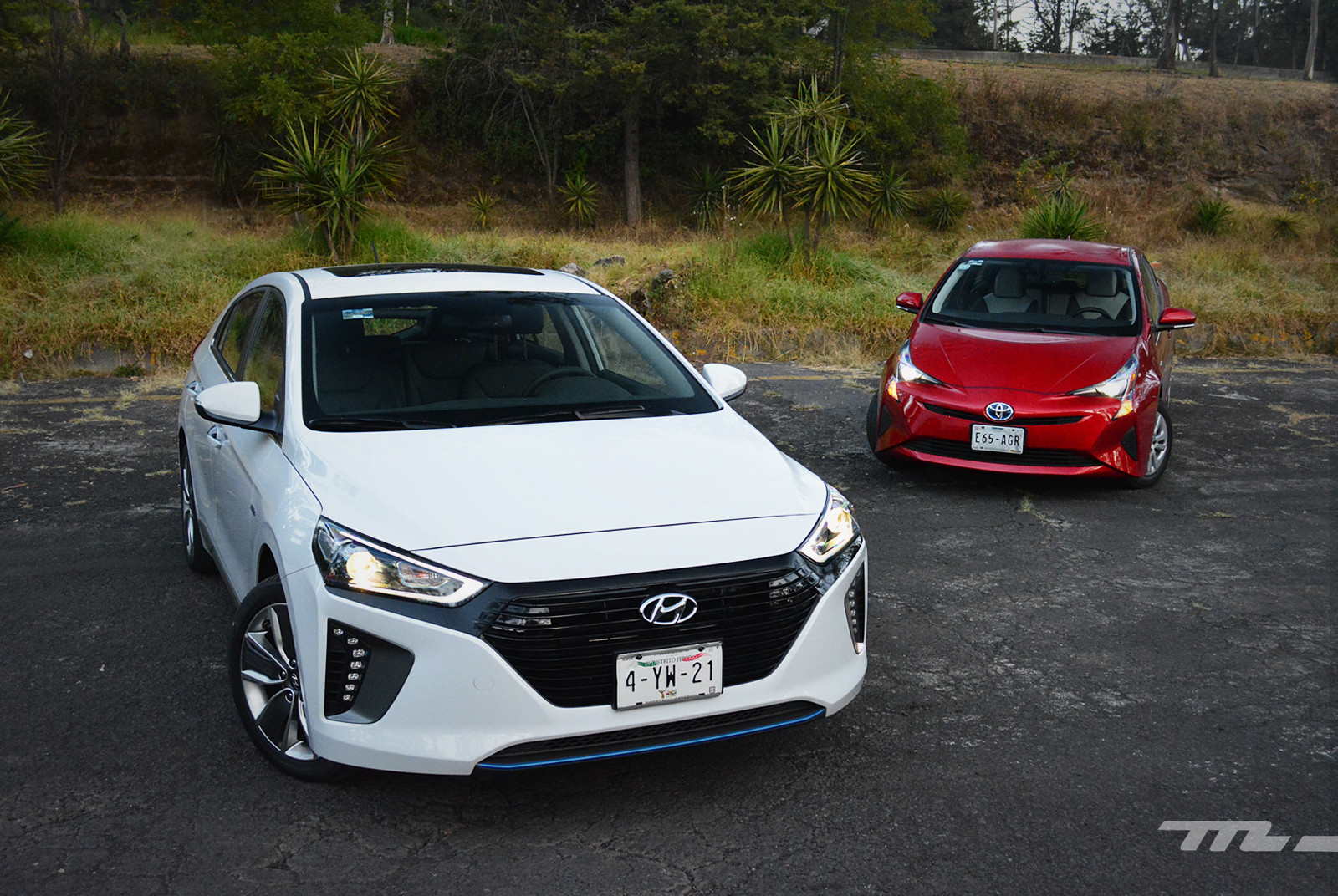Foto de Hyundai Ioniq vs. Toyota Prius (2/22)
