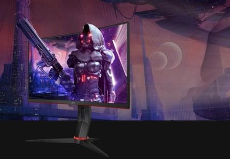 AOC renueva su catálogo de monitores gaming con cuatro nuevos modelos curvos con panel VA Full HD a 165 Hz de 24 y 27 pulgadas