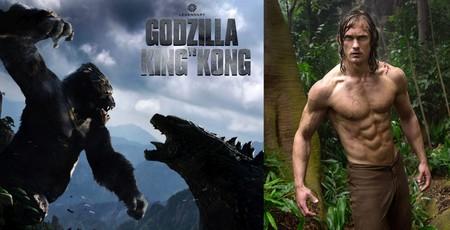 'Godzilla vs. King Kong' incorpora a su reparto al último Tarzán: Alexander Skarsgard
