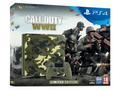 Call of Duty: WWII saldrá a la venta en un pack con una PS4 personalizada de edición limitada
