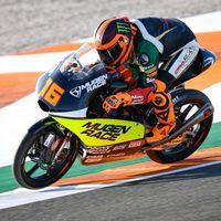 Andrea Migno consigue su primera pole en Moto3 para negar la tercera consecutiva de Marcos Ramírez