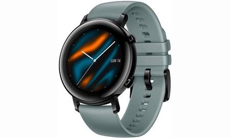 El Corte Inglés y Amazon tienen el elegante Huawei Watch GT 2 Sport por sólo 159 euros